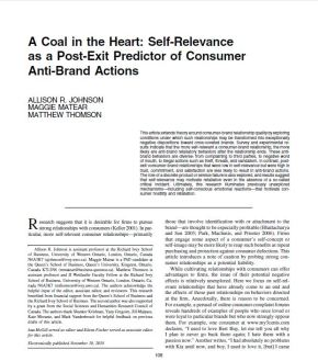 A Coal in the Heart