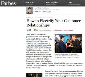 How to Electrify Your Customer Relationships
