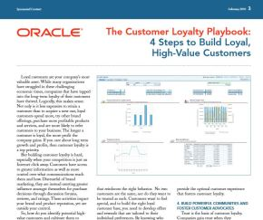 The Customer Loyalty Playbook: 4 Steps to Build Loyal, High-Value Customers