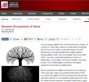 Dynamic Ecosystems of Value