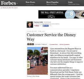 Customer Service the Disney Way