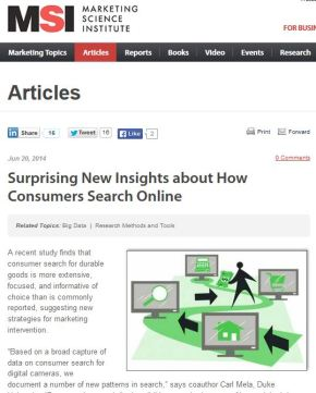 Surprising New Insights about How Consumers Search Online