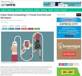 Indian Retail Snowballing?