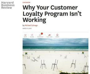 Why Your Customer Loyalty Program Isn't Working
