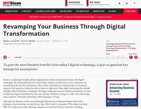 Revamping Your Business Through DigitalTransformation